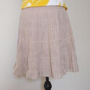 Max Studio Women's A Line  Cotton Skirt
